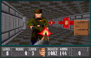 The Wolfenstein 3D Dome - The News